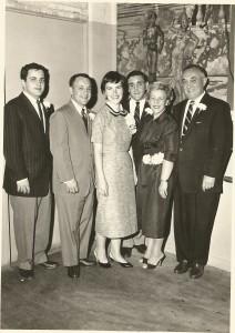 Kubrin family, 1957