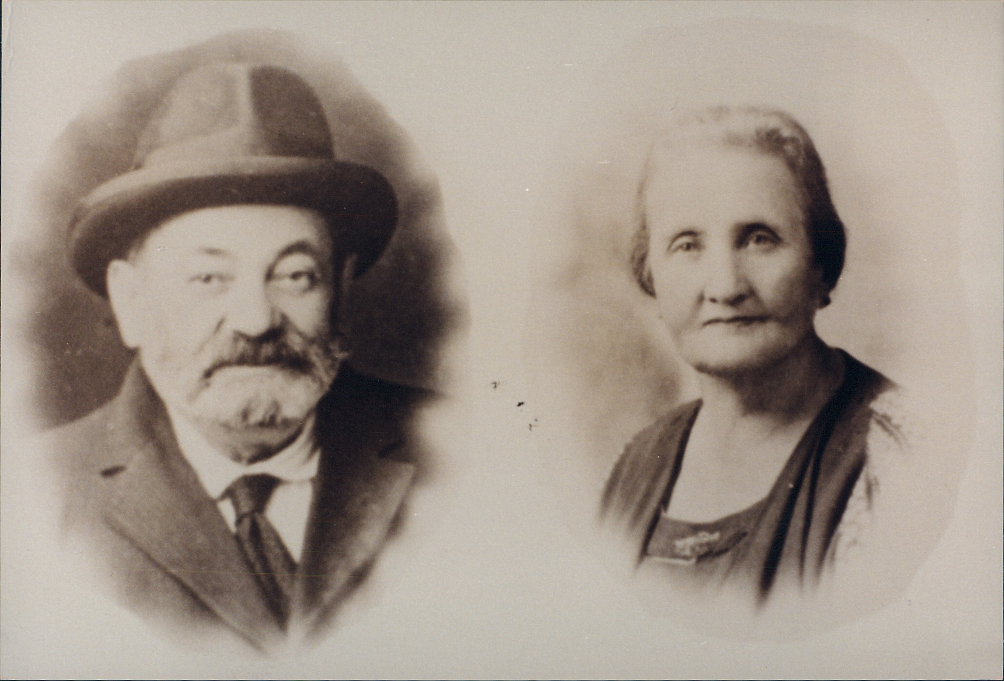 My great-grandparents, Joseph and Edith Letwin