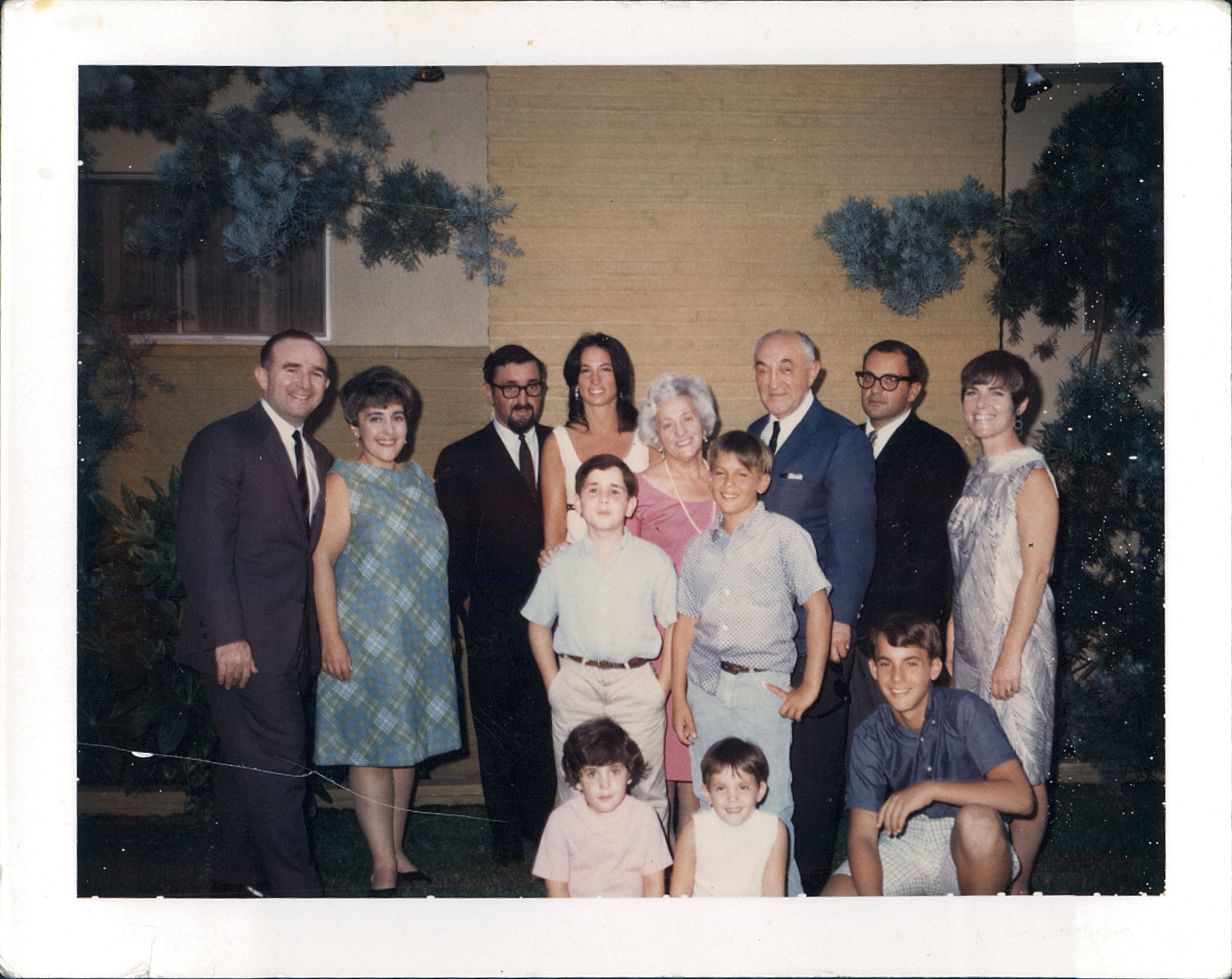 My extended family, circa 1968
